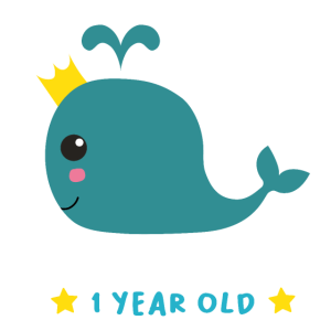 Geburtstag Baby 1 Jahr Wal Geschenkidee