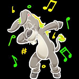 Esel Musik Musikschule Pferd Musiker