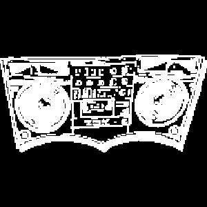 Pixelierte Ghetto-Explosionen