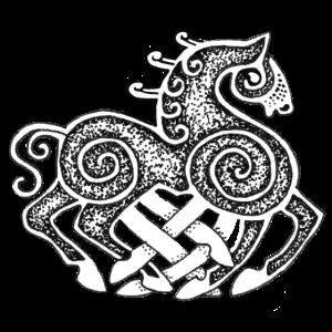Dotwork Sleipnir