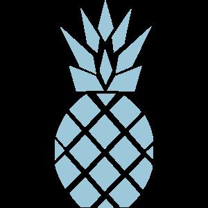 Ananas blau Pineapple blue