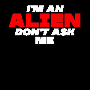 Alien Spruch