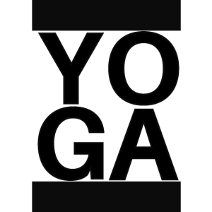 YOGA with black bars
