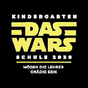 Das wars Kindergarten Schulkind 2020 Schulanfänger