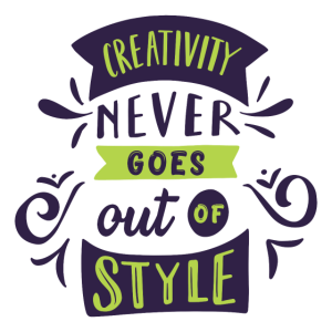 Kreativität kommt nie aus der Mode