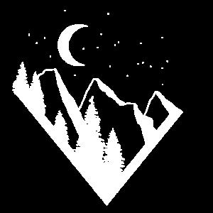 Berglandschaftslogo