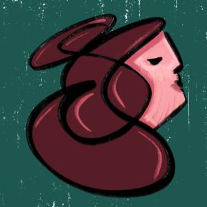 Scribble face