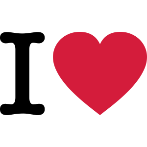 I Love >> dein eigener Text <<