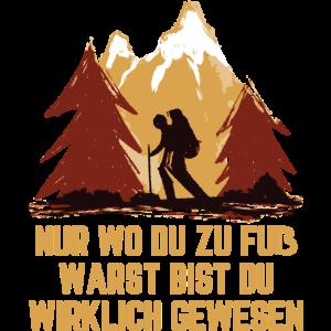 Wandern Speziergang Trekking Klettern Geschenk
