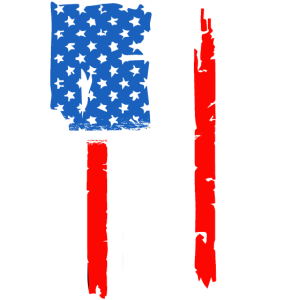 Merica 4. Juli Flagge