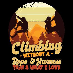 Boulderer Bouldern Berge Kletter