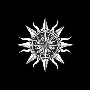 Kompass Bohemien Boho