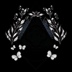 Auge Dreieck Bohemien Boho
