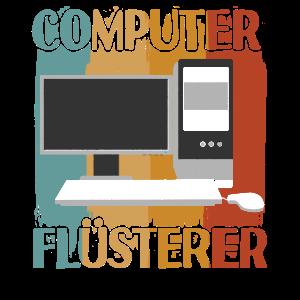 Computer Flüsterer Retro Computer Nerd Informatik