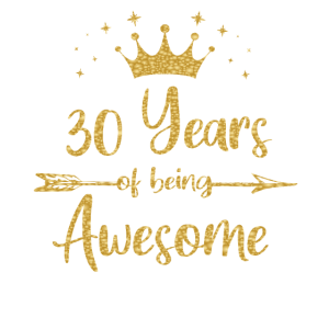 Frauen 30 Jahre Awesome Women 30th Happy
