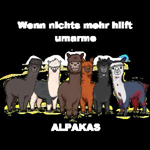 Shirt 2 BRAUN Alpakas