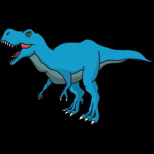 T-Rex blau