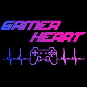 Gamer Heart gaming controller