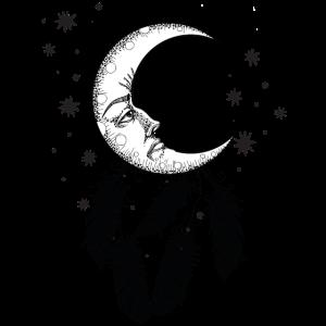 Mond Boho Bohemien