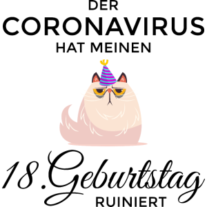 18 Geburtstag 2020 Corona 18. Geschenk Birthday