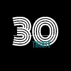 30 Jahre 30. Geburtstag Happy Birthday