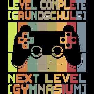 Level Grundschule Abschluss Gymnasium Gamer
