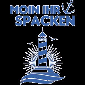 Norddeutsch Norddeutschland Moin Leuchtturm