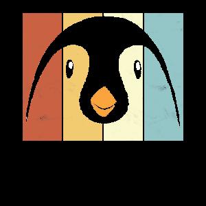 Retro Pinguin Spruch Pinguine