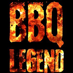 BBQ Legend Grill Legende Feuer Design Geschenkidee