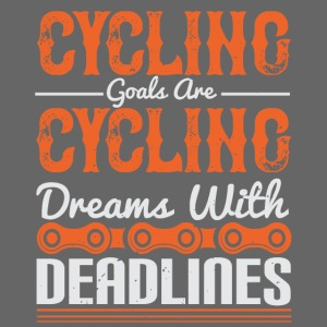 Cycling goals are cycling dreams with deadlines