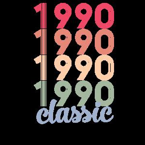 30. Geburtstag 30 Jahre alt 1990 vintage retro