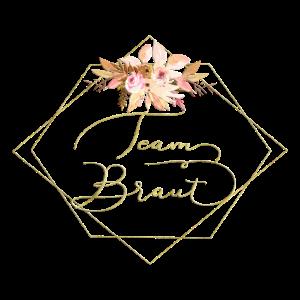 Team Braut Creme Blumen Bouquet 2