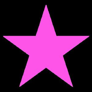Stern rosa, pink star