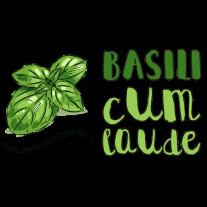 Basili Cum Laude Kochen Kräuter Gewürze Basilikum