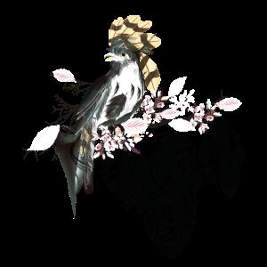 Vogel Bohemien Boho