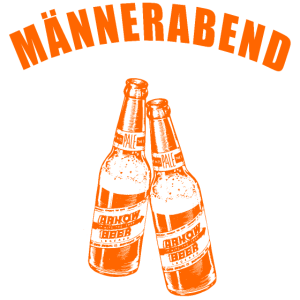MAeNNERABEND DESIGN GESCHENK MÄNNER ABEND BIER BAR