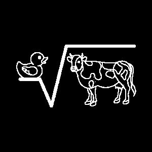 N-te Wurzel Aus Q Ente Wurzel Kuh Witziges Mathema