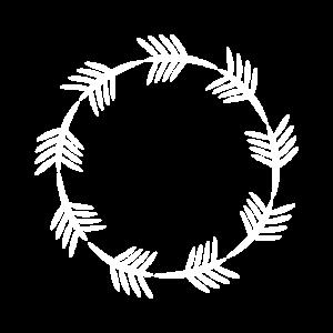 Kreis Dekoration Muster abstrakt