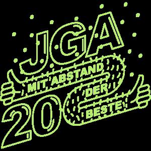 JGA 2020 Mit Abstand der Beste