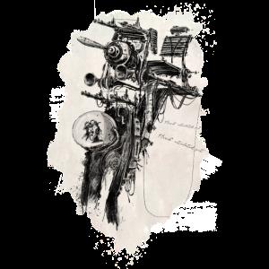 Steampunk-Zeichnung