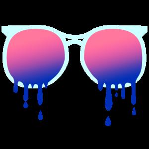 Sonnenbrille - Sommer - Hitze - schmelzen