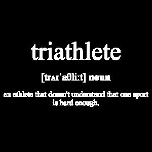 Triathlete (Triathlet*in) Black Edition