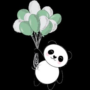 Cute Panda Ballons