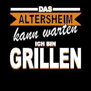 Altersheim Grillen Rentner Rente Ruhestand Grill