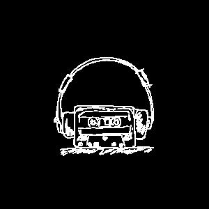 Kassette Kopfhöhrer 90er