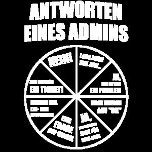 Admin Administrator Informatiker Lustig Geschenk