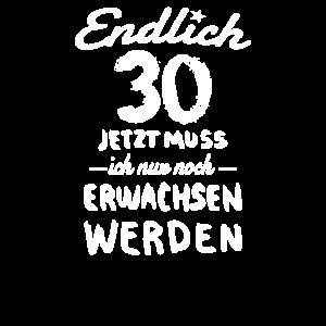 30 Geburtstag Geschenk 30 Jahre 30er Geschenkidee