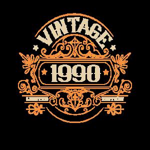 1990 Geburtstag Vintage 1990