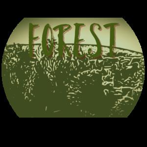 Forest Wald Holz Geschenkidee