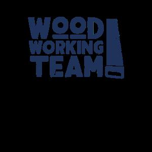 Baumfäller Holzarbeiter Holzarbeit Holzfäller Team